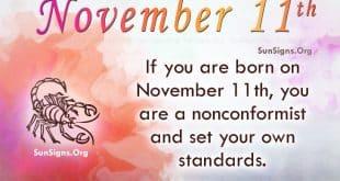 november 11 famous birthdays