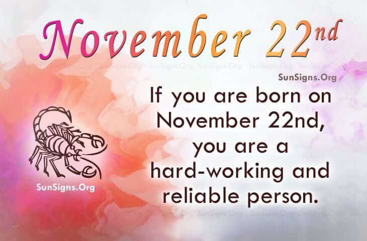 November 22 Birthdays Of Famous People - Characteristics ...