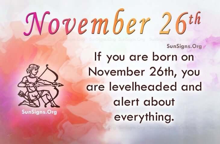 november 26 famous birthdays
