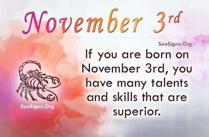 november 3 famous birthdays
