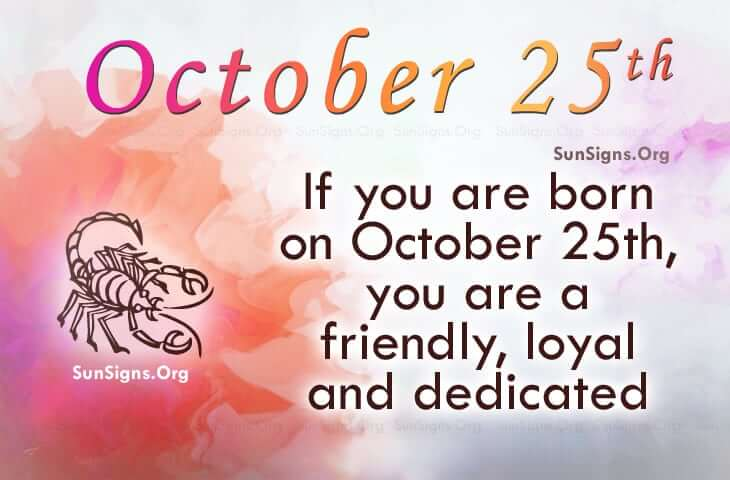 25 october date of birth numerology