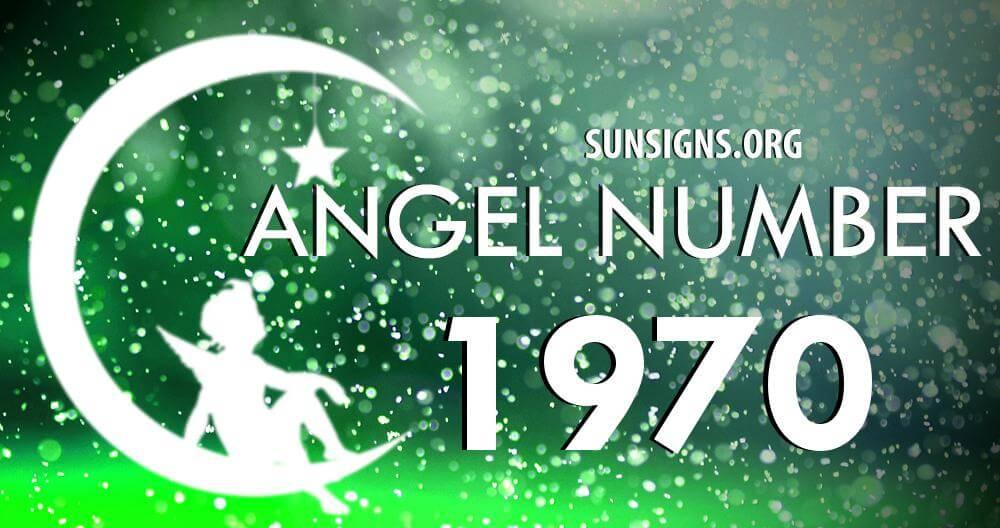 angel number 1970