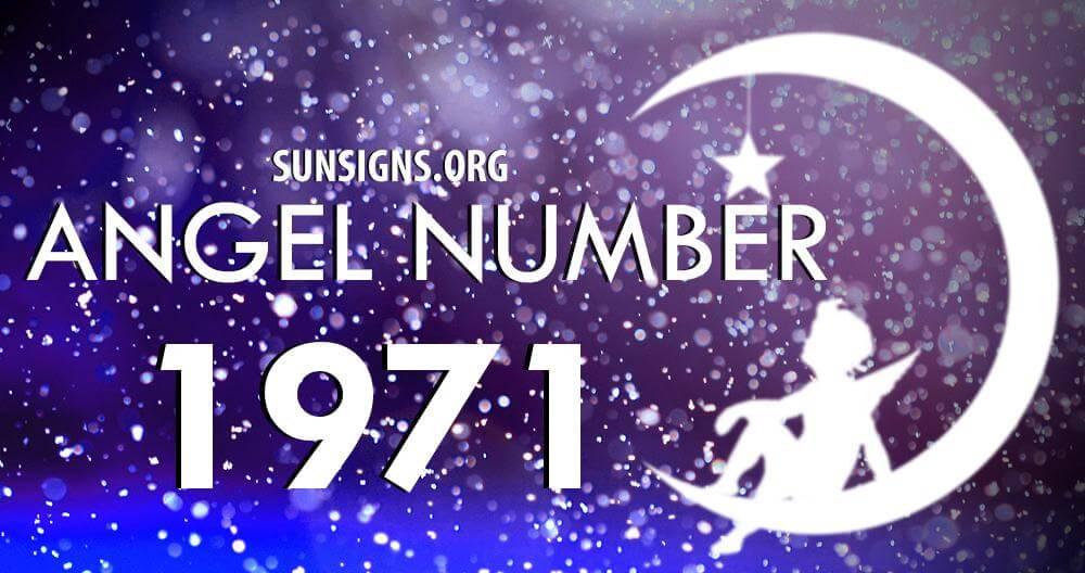 angel number 1971