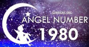 angel number 1980