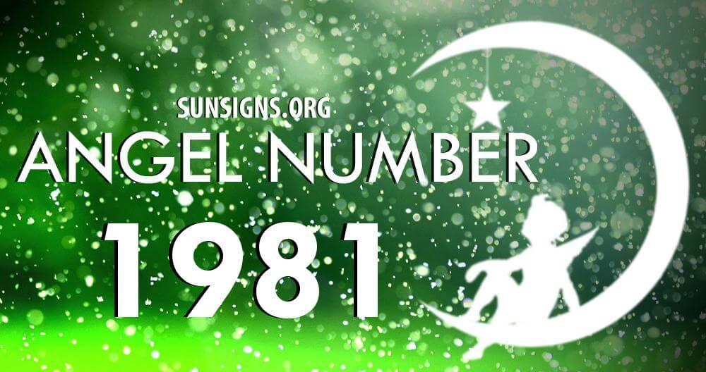 angel number 1981