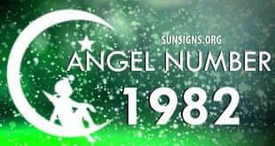 angel number 1982