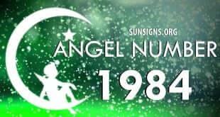 angel number 1984