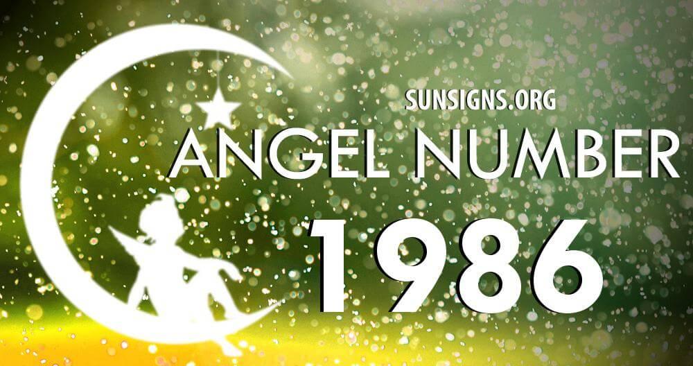 angel number 1986