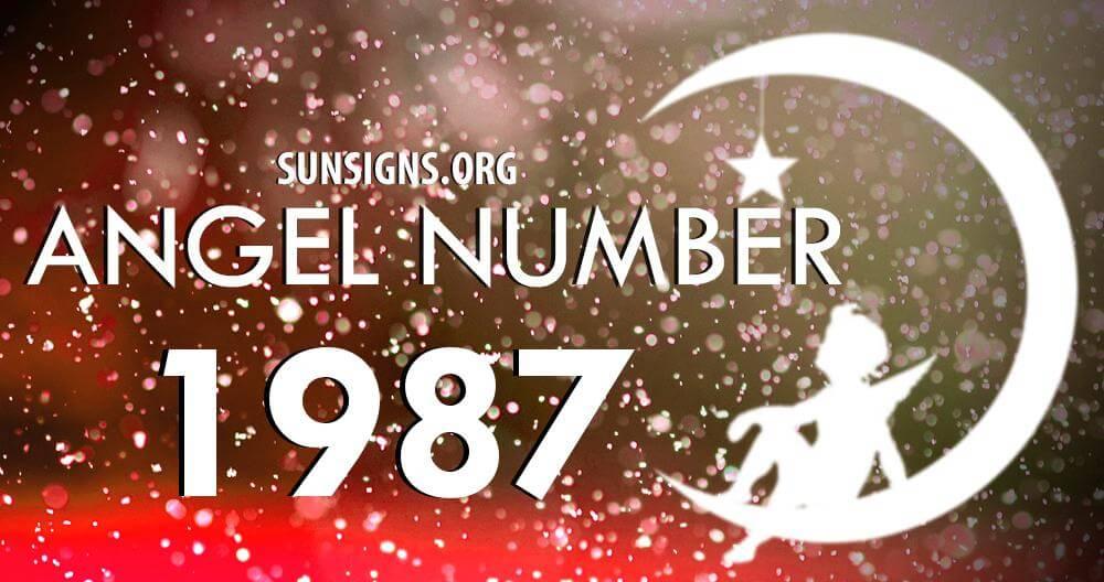angel number 1987