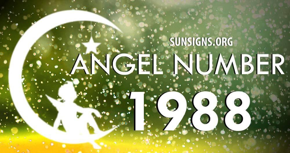 angel number 1988