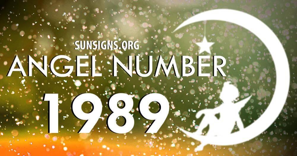 angel number 1989