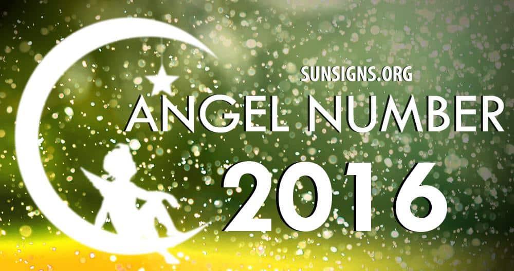 angel number 2016