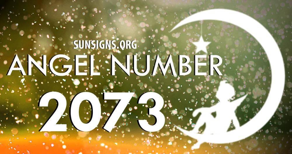 angel number 2073
