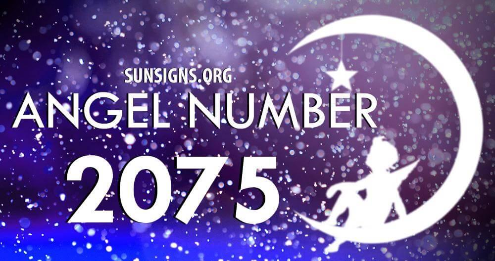 angel number 2075