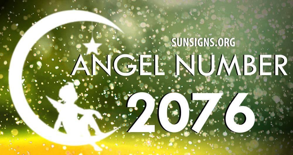 angel number 2076