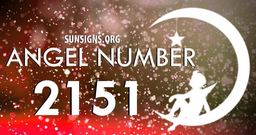 angel number 2151