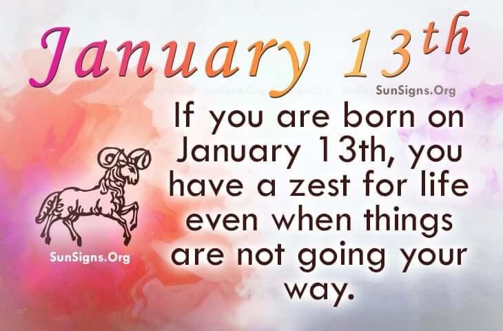 january 13 famous birthdays