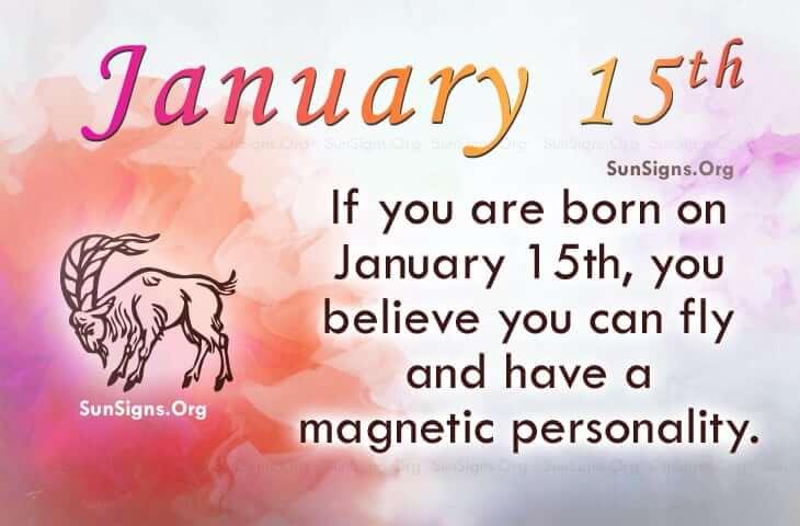 BORN ON JANUARY 15 HOROSCOPE AND CHARACTERISTICS