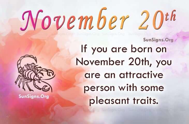 november 20 famous birthdays