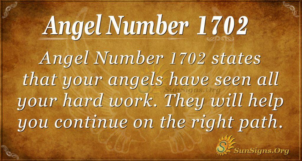 Angel Number 1702