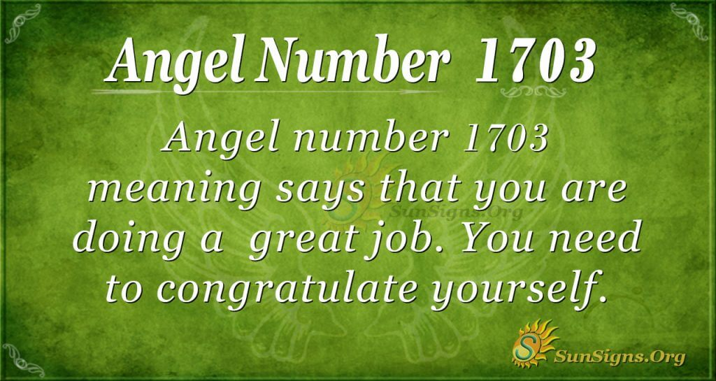 Angel Number 1703