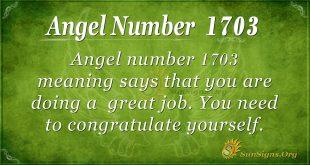 Angel Number 1703