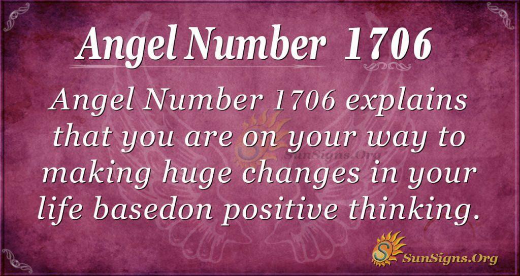 Angel Number 1706