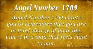 Angel number 1709