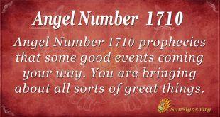 Angel Number 1710