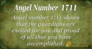 Angel Number 1711
