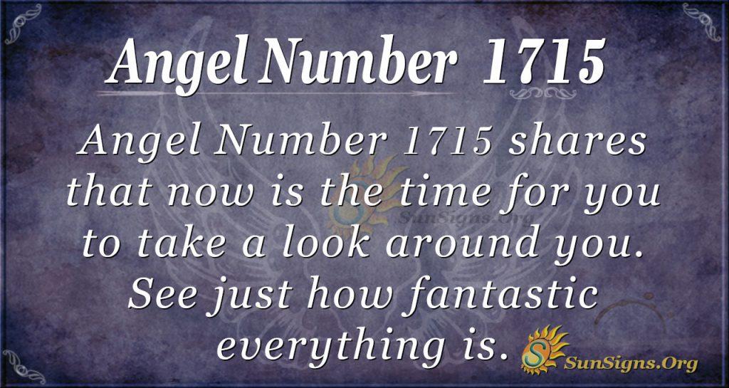 Angel Number 1715