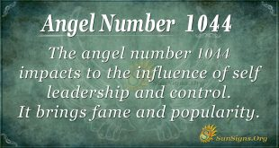 angel number 1044