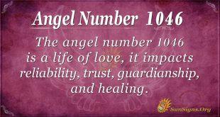 angel number 1046