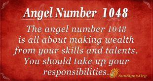 angel number 1048