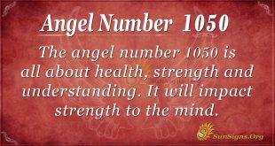 angel number 1050