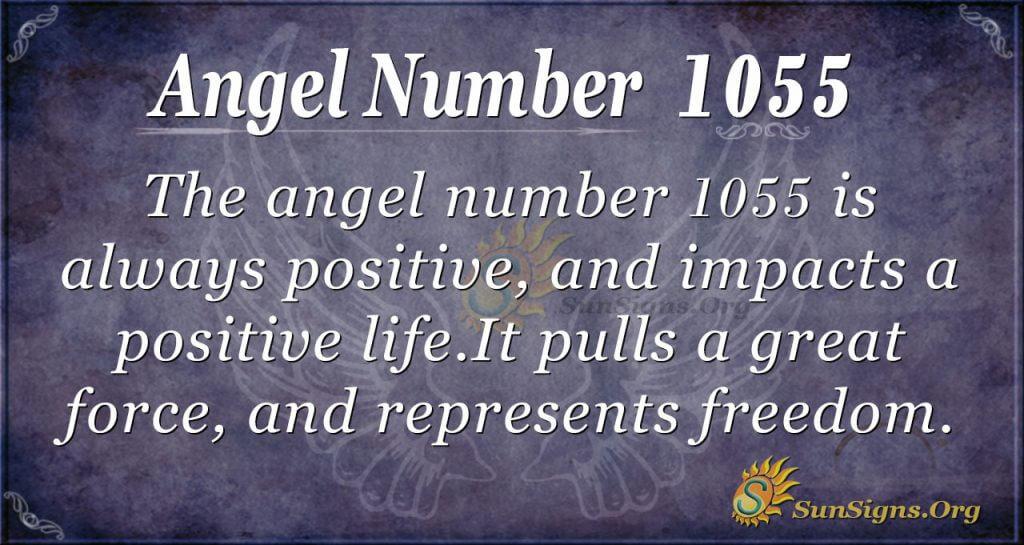 angel number 1055