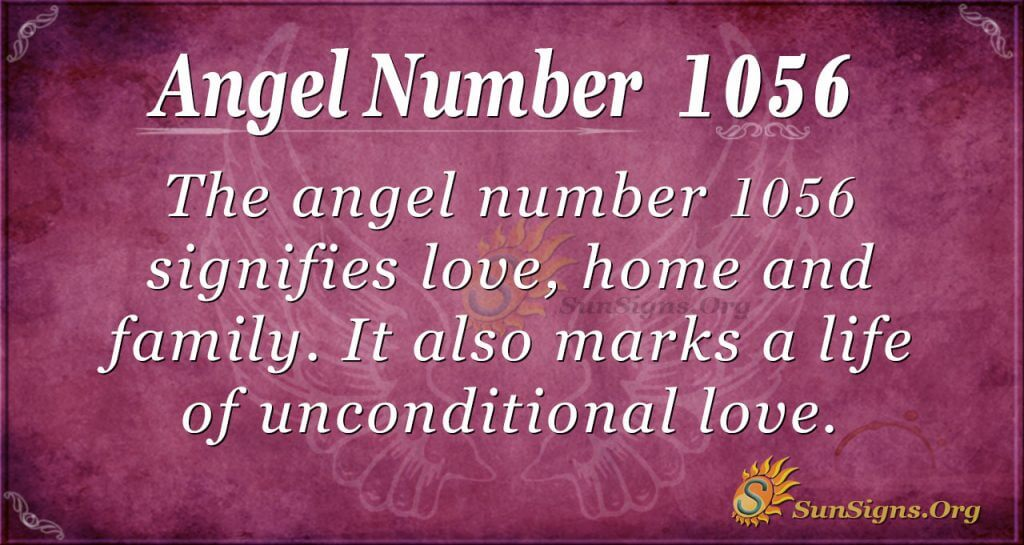 angel number 1056
