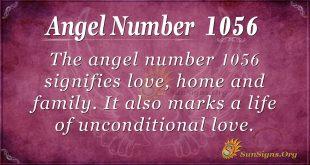 angel number 1056