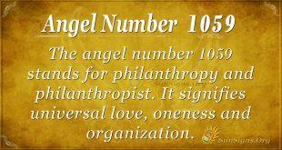 angel number 1059
