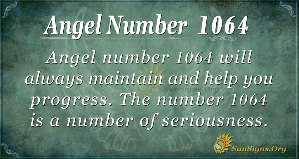 angel number 1064