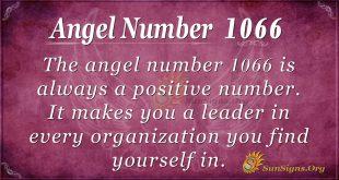 angel number 1066