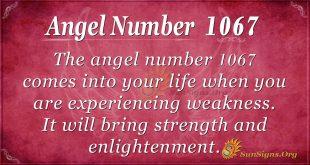 angel number 1067