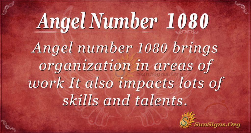angel number 1080