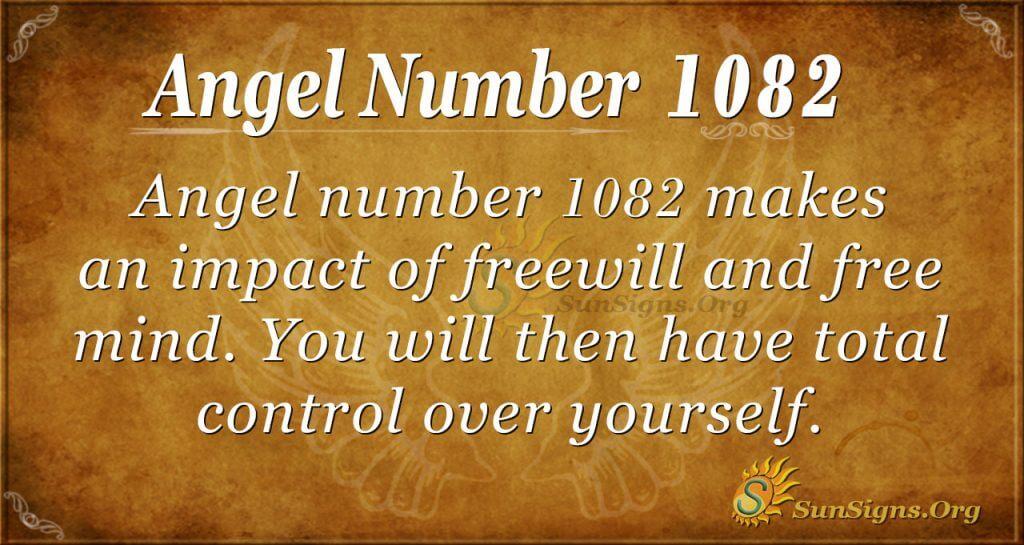 angel number 1082