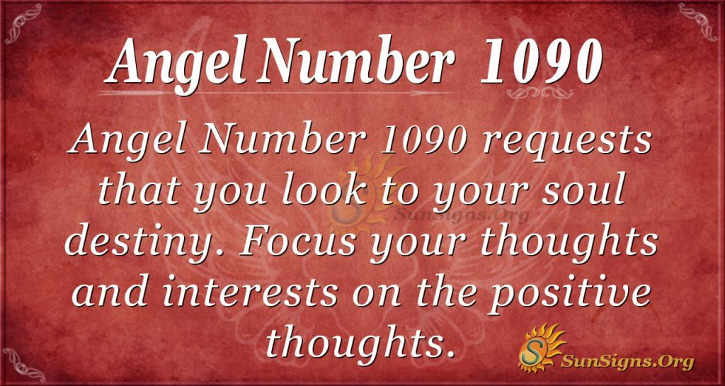 angel number 1090