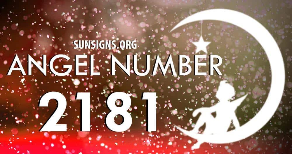 angel number 2181