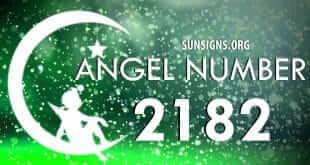 angel number 2182