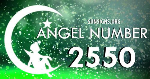 Angel Numbers 2550
