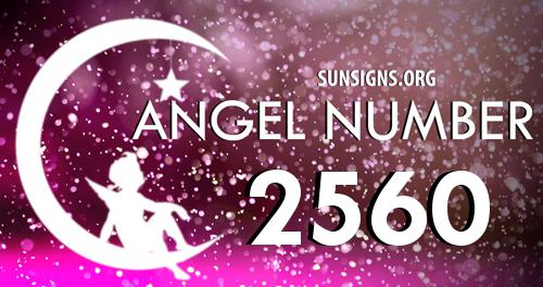 angel number 2560