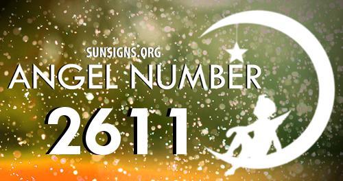 angel number 2611